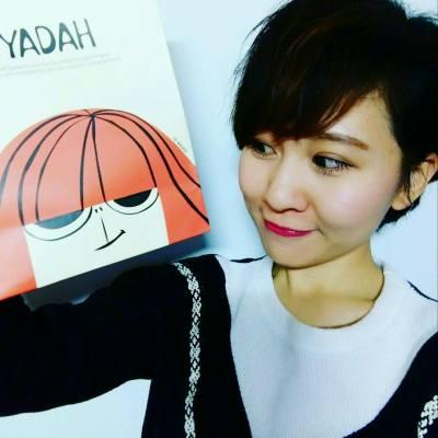 """韓國""""Yadah""""天然有機彩妝分享會2016 認識了來自韓國的可愛小女孩😊  #yadah #天然有機彩妝 #韓妝"""