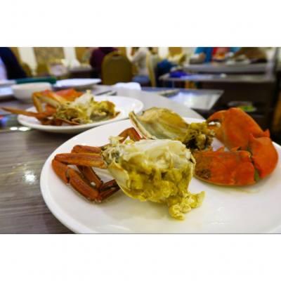 嘩!蟹黃多到流出黎啦~~ 好好味既肉蟹,就咁蒸最鮮甜.  #likes4likes #foodie #instafood #hkfood #followme #foodblogger #foodlover #hkfood #foodphoto #tasty #loveeating #onthetable #foodpics #foodstyling #getinmybelly #topcitybiteshk #foodporn #相機食先 #手機食先 #好味 #foodstagram #foodgasm #foodsharing #nomnom #all_shots #wwkfood #crab #steamed
