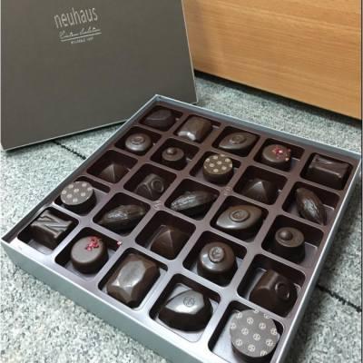 A box of dark chocolate is my motivation to work~~   #darkchocolate #neuhaus #snacks #teatime #chocolate