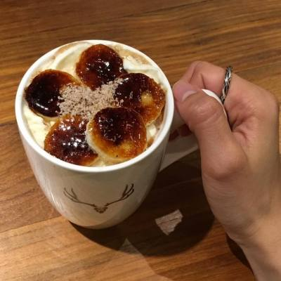 🍌Banana mocha  Mocha 味不太濃,香蕉有甜甜的焦糖面,幾好吃,但對於mocha 沒有起太大的作用,好像只是點綴吧~~ #likes4likes #foodie #instafood #hkfood #followme #foodblogger #foodlover #hkfood #foodphoto #tasty #loveeating #onthetable #foodpics #foodstyling #getinmybelly #topcitybiteshk #foodporn #相機食先 #手機食先 #好味 #foodstagram #foodgasm #foodsharing #nomnom #all_shots #mocha #banana #drinks