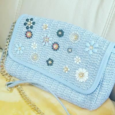 Pastel floral Bag  #zara