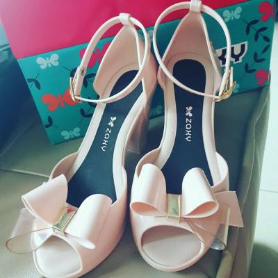 Jelly shoes #zaxy