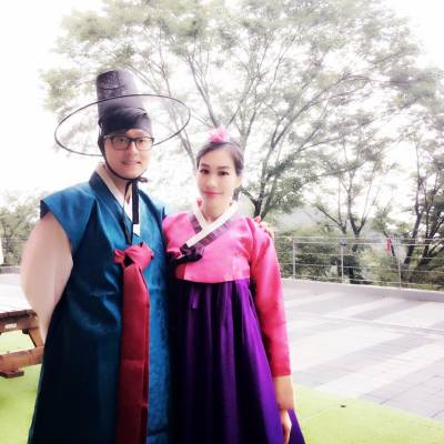 我們第一次韓服體驗 #一生人要try下 #趁後生 #fun #travel #koreastyle #korea #koreafashion #韓遊