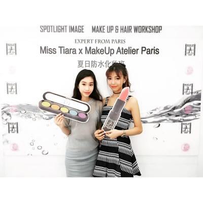 感謝邀請參加 Miss Tiara x MakeUp Atelier Paris 夏日防水化妝班、非常專業又出名明星化妝師教授、學左好多化妝技巧又有化妝禮物送 !#misstiarahk  #nice #nice #spotlightimage #misstiara吃喝購物世界