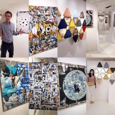 感謝SOGO受邀請出席Sogo x 法國藝術家Antoine Rameau的展覽。 集合西方和亞洲元素的動人圖像的同時,並發展出他獨特的拼貼藝術風格。Opening on 26th -5th June 歡迎參觀  #antoinexsogo #art #good #sogohk #sogo #我想返工去shopping #sogohongkong #misstiara吃喝購物世界