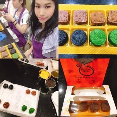 🌸🍂冰皮月餅工作坊🍮🌕 #中秋佳節 #月餅 #mooncake  #missTiara  #misstiarahk #OrangeBakingStore