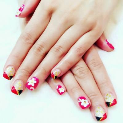 農曆新年&情人節Nails `Thanks @富甲一坊 整靚靚手甲 #富甲一坊 #nail #nails #love #chinesenewyear #Valentine's #good