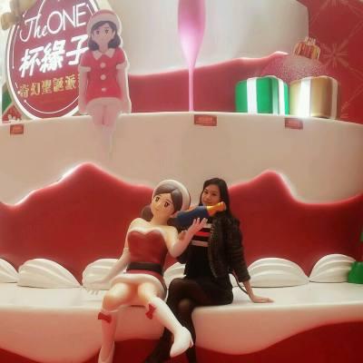 [ChristMISS屬於女生的聖誕] The ONE x Miss Tiara 由依家起每個星期逢五/六/日~ 黎到尖沙咀 The ONE 商場,  下載 Miss Tiara 手機應用程式, 根據指示於商場內尋找天使完成任務就可以帶豐富既聖誕禮物返屋企嫁喇!! 仲仲唔快d去玩下~ #misstiara #hktheone  #ChristMISS  #聖誕 #杯緣子