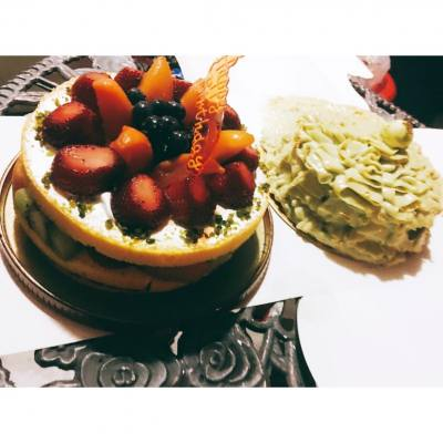 中秋節快樂,人月兩團圓#BBQ #中秋  #CafeLandmarkCake & #美心Cake