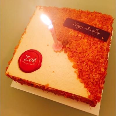 一家人慶祝老公生日🎂🎂🍻🍸🎊 #ZoeCakeshop #cake #蘇施黃Cake  #好好味 #cakeshop