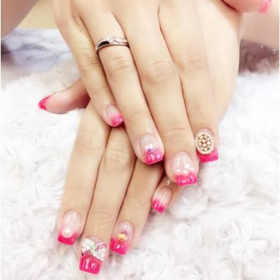 New gel nail #我想返工去shopping #misstiara吃喝購物世界 #nails