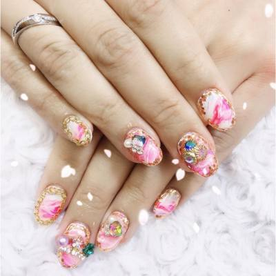 New nail summer 💅🏻 #nail #nice #good #nailhk #nails #fun #fashion #hk #hongkong