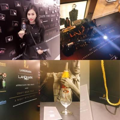 感謝邀請、品嚐啤酒LANDMARK #Landmark #hongkong #nice #Landmarkhk