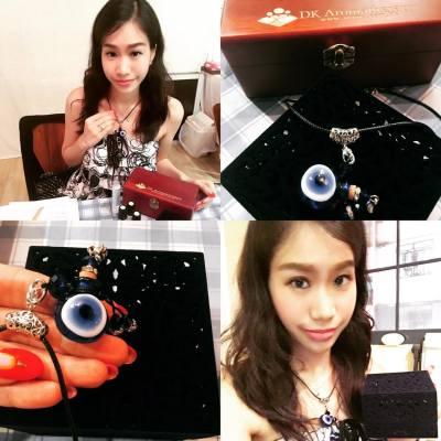 DIY香薰Workshop 、Thanks 收到土耳其藍眼睛EvilEye  #EvilEye  #DIYAromatherapy #misstiara吃喝購物世界 #我想返工去shopping