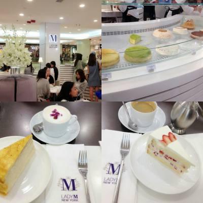 歏Tea🍵🍴 ,美國New York Lady M Cake好味🍰~ #newyork #ladym #ladymcake