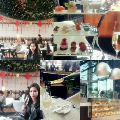 Afternoon tea yammy #hoteliconhk #sabonhk