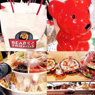Bears&Friends yammy candy 買滿$100 9 折 、快d來la 夾夾糖 、大約一杯滿都係$50 到 、好多味道、有得試食味。 #bearsfriends #good #sweet #LCX #海港城