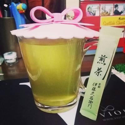 飲杯茶提提神先  #greentea #綠茶 #伊藤之右衛門 #京都 #煎茶