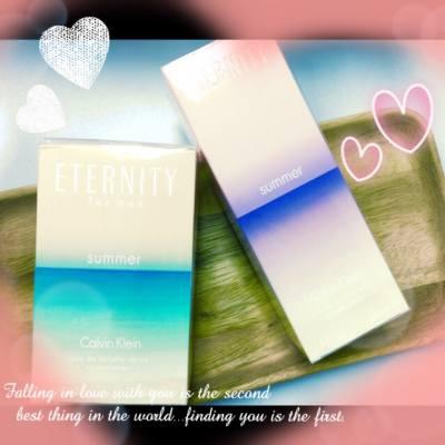 做到一頭煙,却收到窩心的 Eternity Calvin Klein 香水,整個人心情也甜蜜溫馨起來~ 💖💞  #Eternity #CalvinKlein #Summer