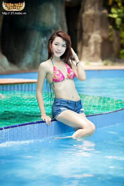 Lộ diện Top 10 người đẹp game Thiên Thần Truyện