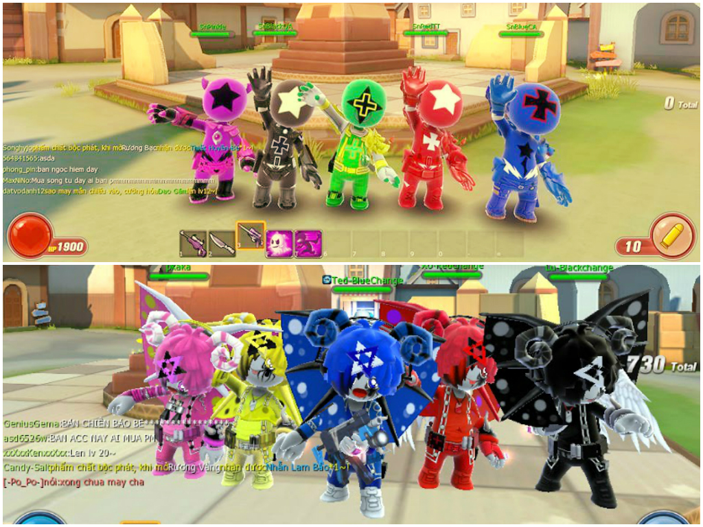 Biệt đội Siêu Anh Hùng như là buổi tiệc hội tụ các VIP trong Avatar Star