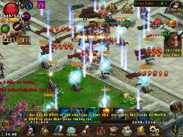 Lần đầu tiên, người chơi được trải nghiệm một thế giới mỹ nhân với đồ họa  vô cùng đẹp mắt và sắc nét cùng gameplay đồ sộ không khác gì một game PC.