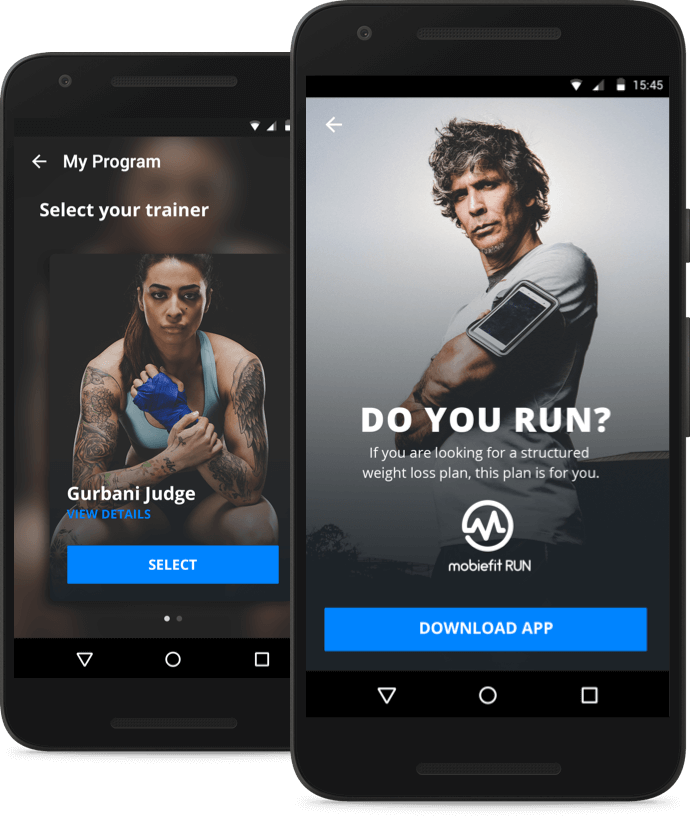 Download mobiefit Run
