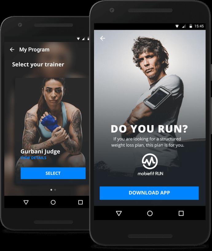Download mobiefit Run