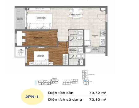 OV217 - 2 phòng ngủ - One Verandah