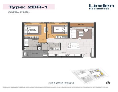 EP0329 - 2 phòng ngủ - Empire City Thủ Thiêm