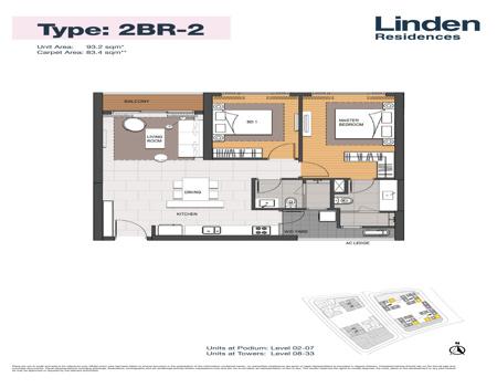 EP0242 - 2 phòng ngủ - Empire City Thủ Thiêm