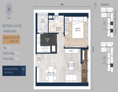 FEV0542 - 1 phòng ngủ - Feliz En Vista