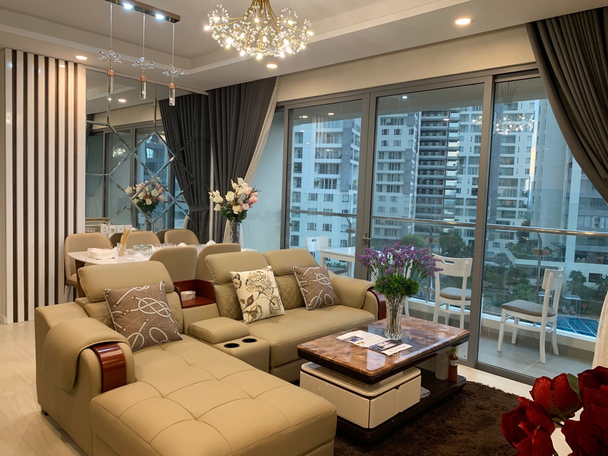DI0220 - Diamond Island Apartment For Rent & Sale in Ho Chi Minh City - 2 bedroom