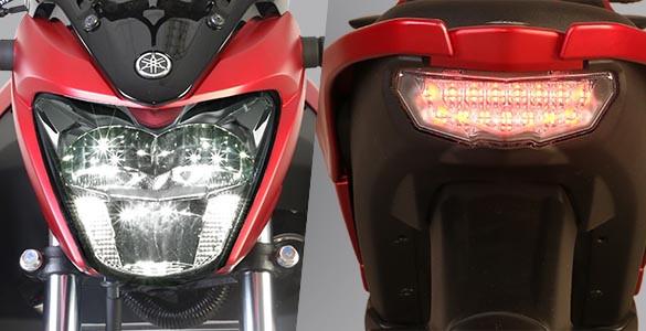 Headlamp dan Stoplamp Vixion R
