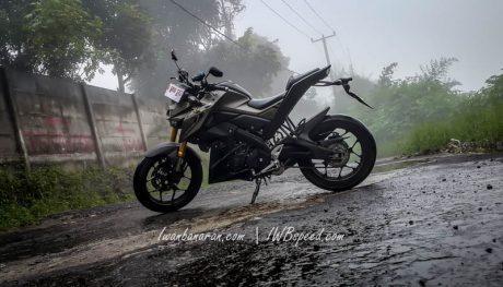 Tampilan Yamaha Xabre