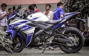 Jepang menjadi negara pertama untuk di Ekspor Yamaha R25