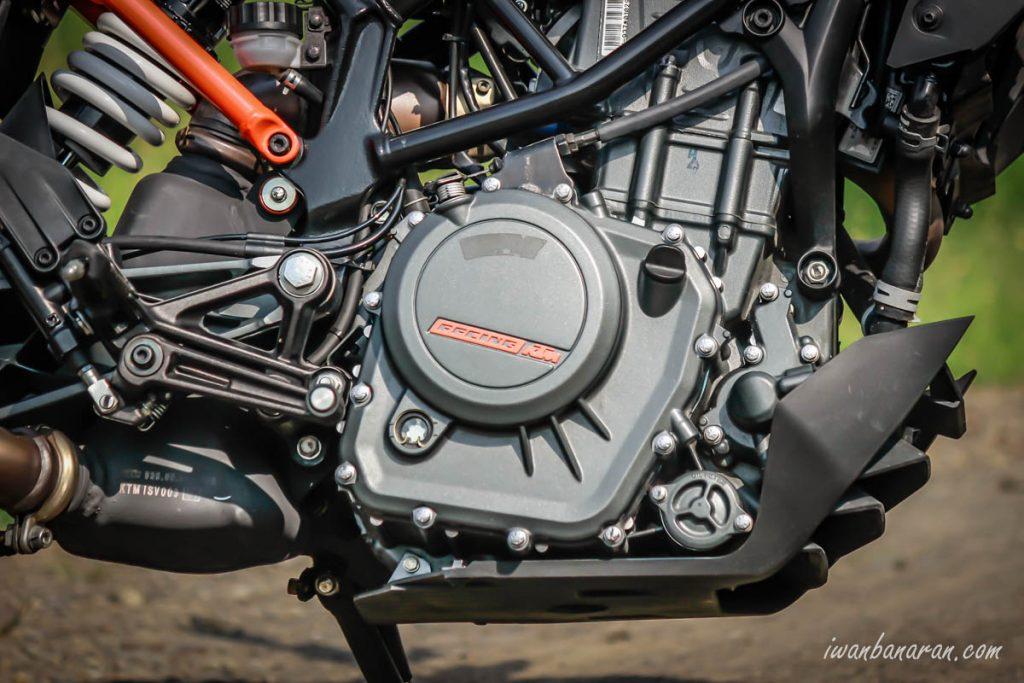 mesin KTM New Duke 250