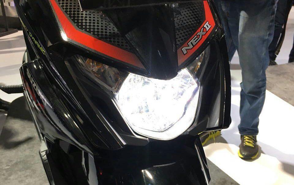Headlamp LED Suzuki Nex Gen-2 untuk Varian tertentu