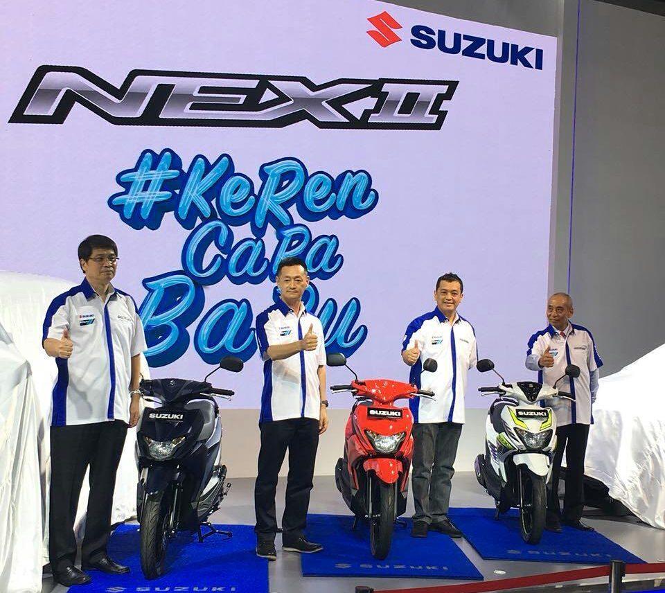 Varian Warna Suzuki Nex Gen-2