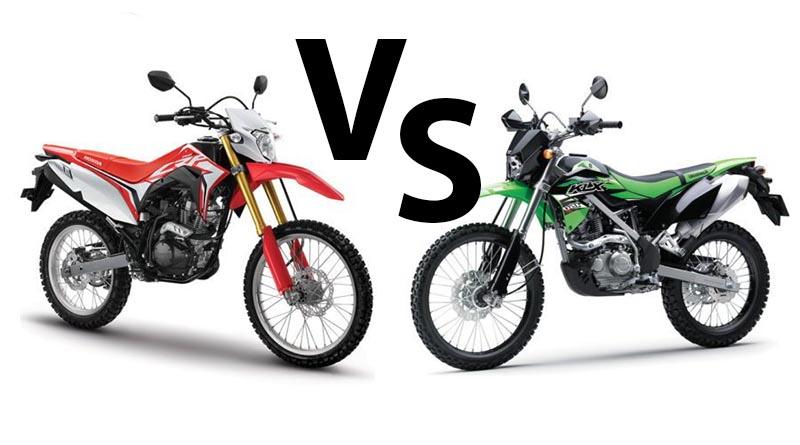 Komparasi CRF150L vs KLX 150 BF, Pilih Mana Nih?