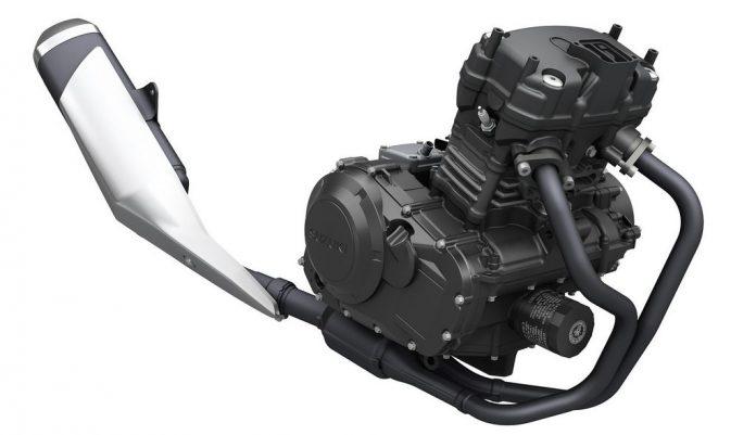 Mesin Suzuki Gixxer Berkubikasi 300cc