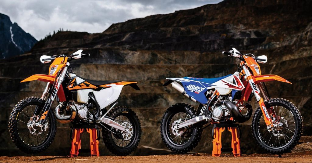 Duo Trail Dengan Mesin 2-Tak dari KTM
