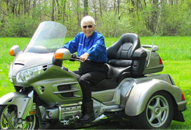 Miriam Berger Leisure, Nenek Usia 91 Tahun Yang Masih Doyan Touring