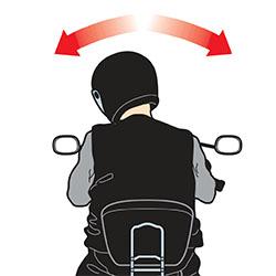 Atasi Rasa Pegal Saat Berkendara Pada Bagian Leher Dengan Gerakan Kesamping Secara Berulang