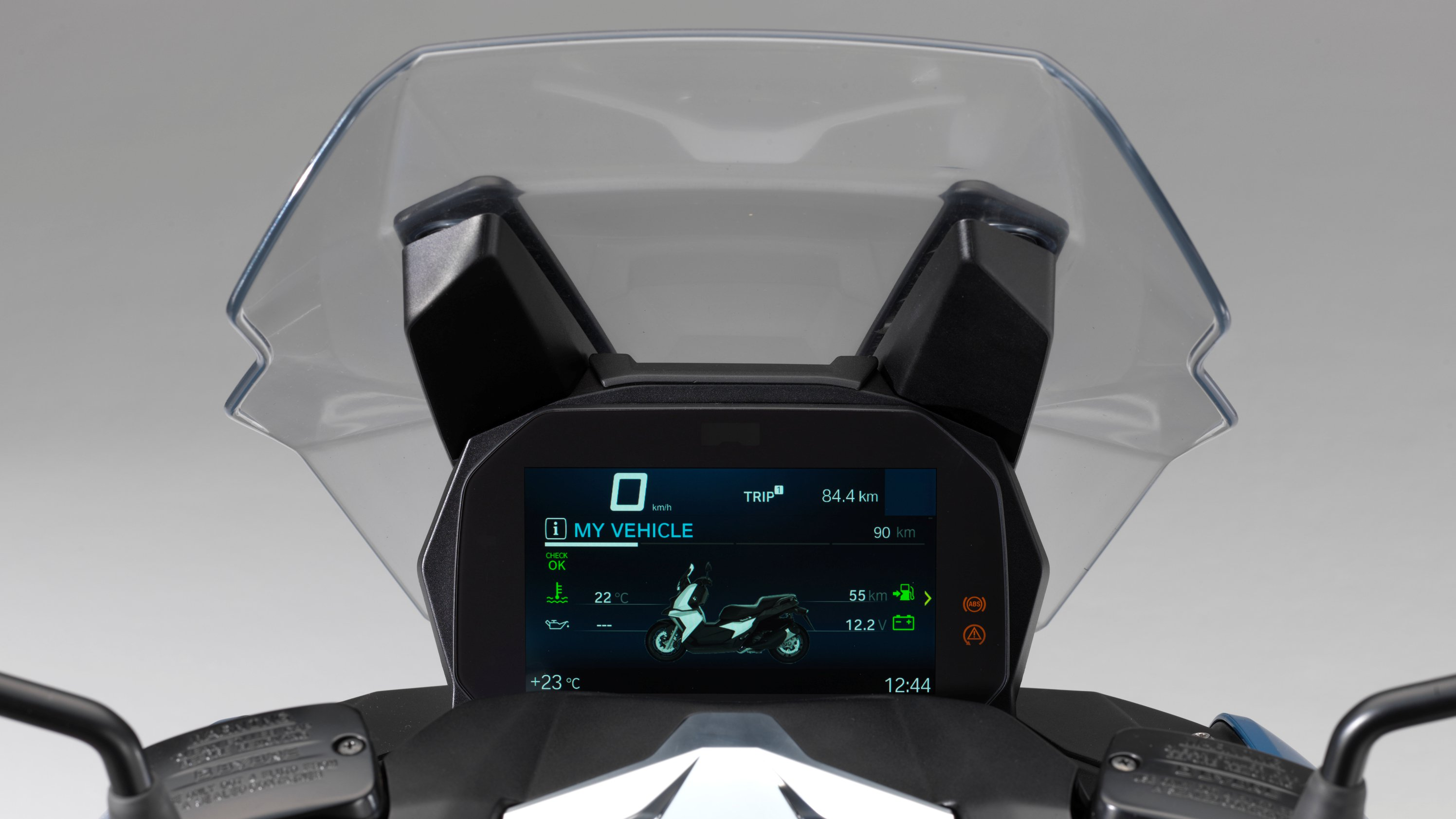 Penampakan Panel Display BMW C 400 X