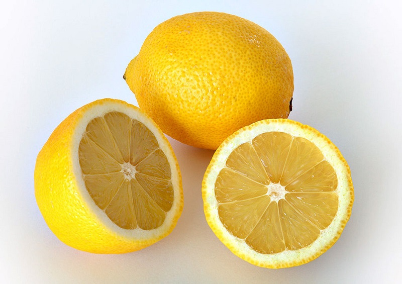 Lemon untuk hilangkan karat