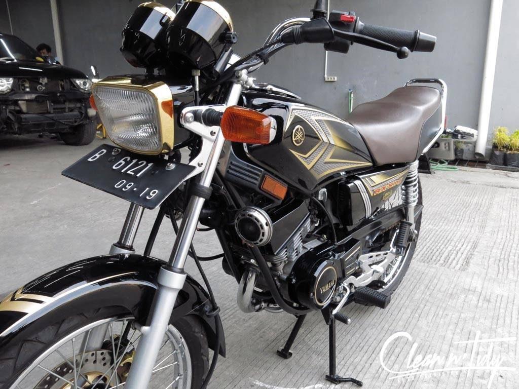 Yamaha RX-King Sangat Terawat, Tak Heran Jika Kondisi Seperti Ini Dibanderol Sangat Mahal