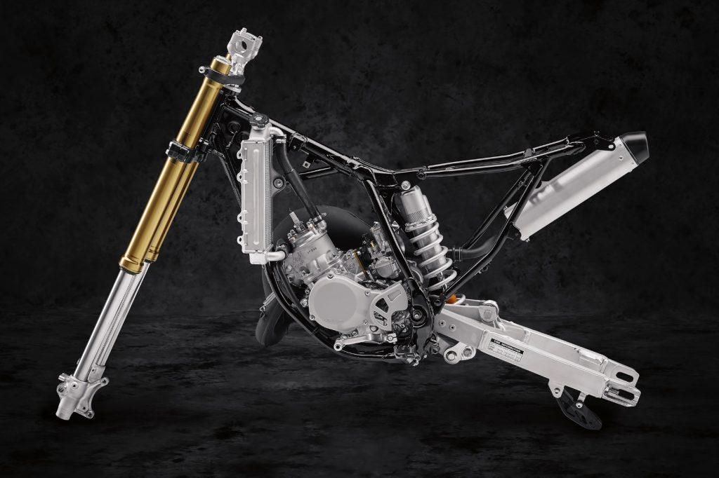 Sasis & Suspensi Yamaha YZ-85 Keluaran 2019 Yang Terbaru