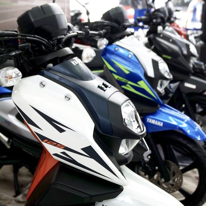 Jajaran Warna Terbaru Yamaha All New X-Ride 125
