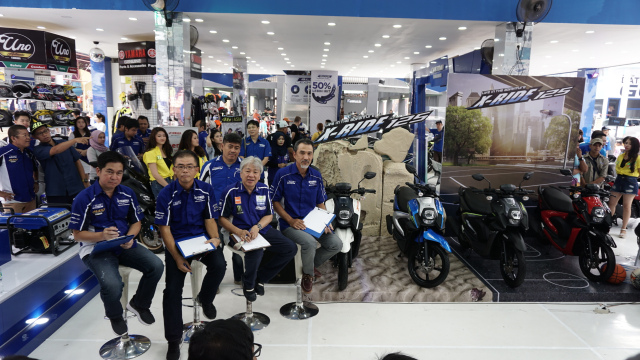 Yamaha Indonesia Memperkenalkan Jajaran Yamaha All New X-Ride 125 Di Jakarta Fair Kemayoran 2018